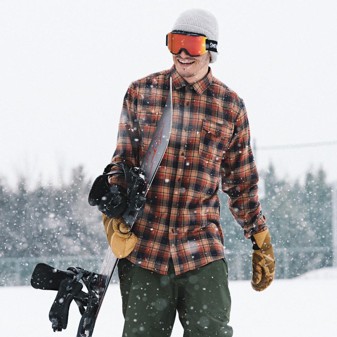 46770b13c0e Louif Paradis rockin  the new Smith ChromaPop Snow Goggle