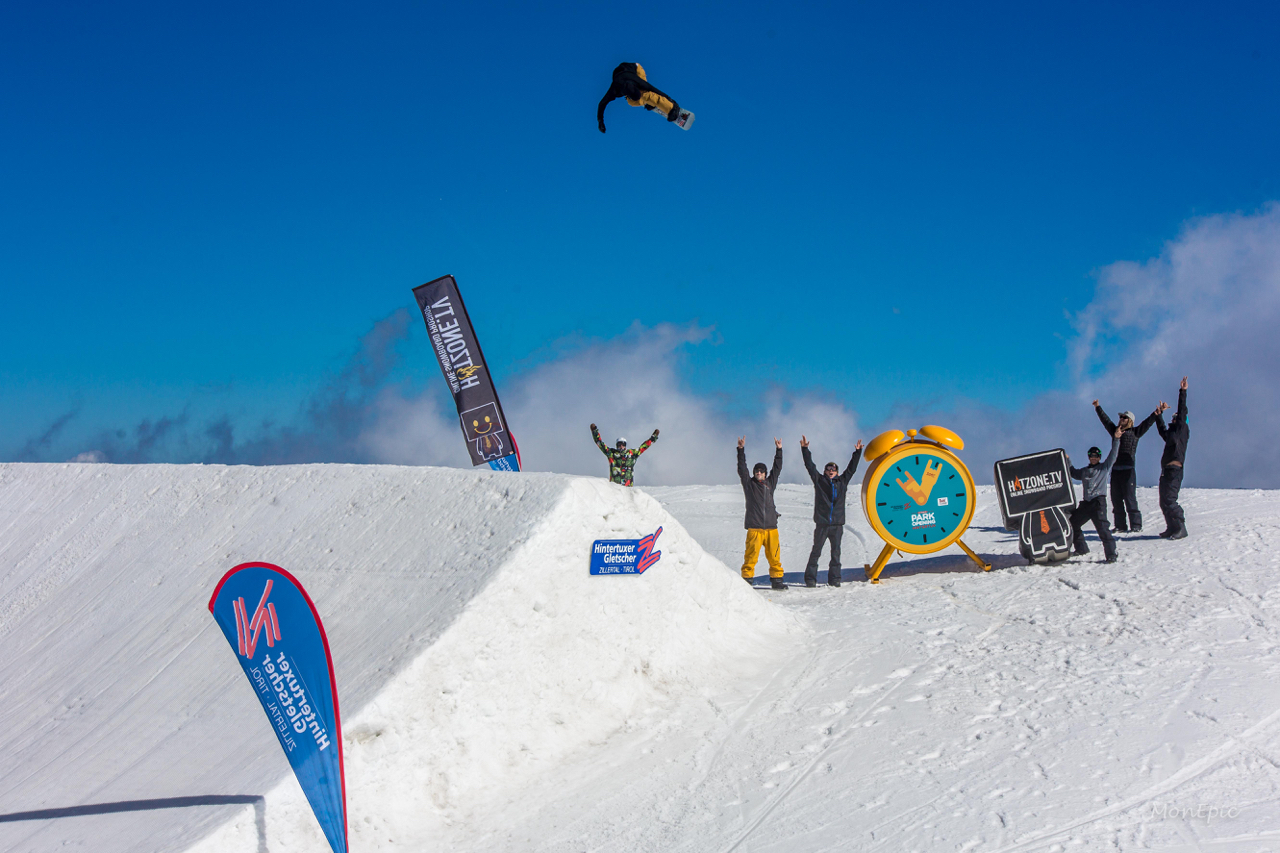 Method Mag Park Opening // Hintertux - DAY 1